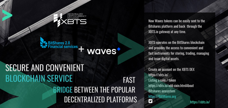 waves dex xbts